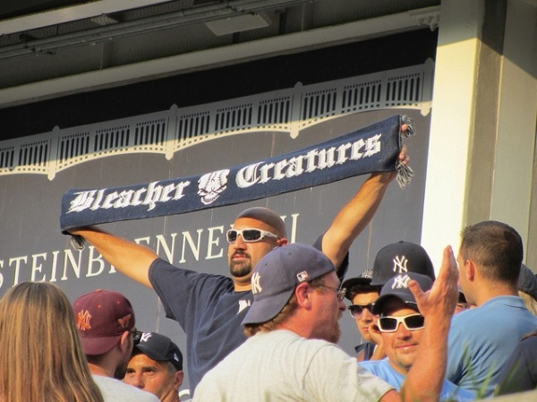 Bald Vinny, a Yankee Stadium staple (Flickr)